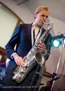optreden van Willie Jones III met Floriaan Wempe kwartet in Bird Rotterdam